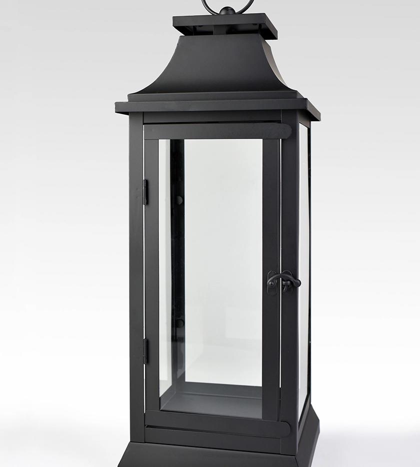 "Hampton Lantern - Small - 15"" Tall"