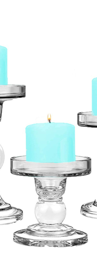 Taper & Pillar Candle Holder - 3 sizes