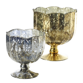 Mallory Compote Vases