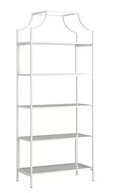 White Etagere Shelves