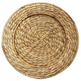 Natural Rattan Charger Plate