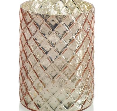 """Rose Gold Vase - 3""""x4"""""""