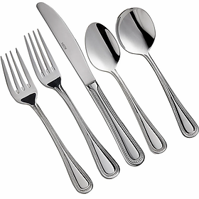 Lydia Stainless Silver Flatware
