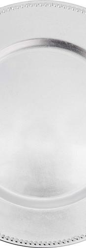 Melamine Silver Beaded Charger.jpg