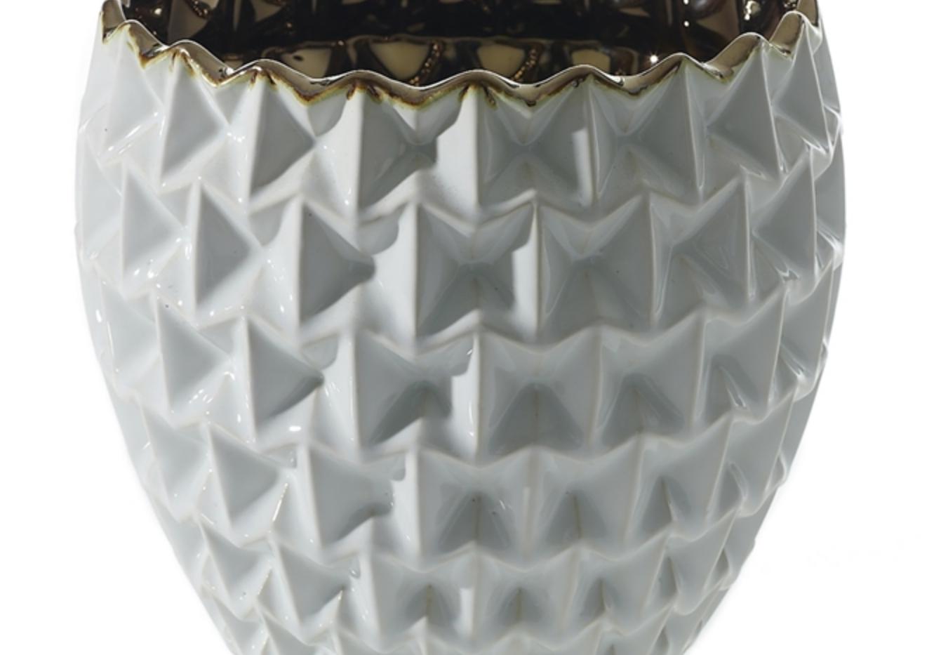 """Melrose Floral Vase - 5.5""""x5.75"""""""