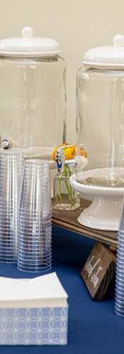Beverage Dispensers, Risers & Signs