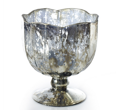 Mallory Vases - Silver