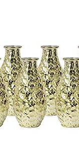 Gold Bud Vases