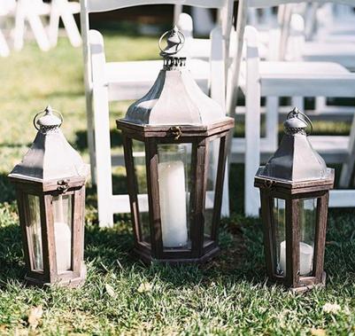 Timeless Rustic Lanterns
