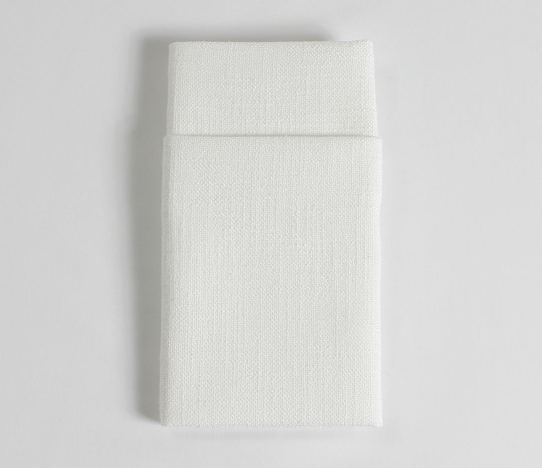 White Panama Napkins