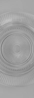 Clear Luminarc Louison Glass Dinnerplate