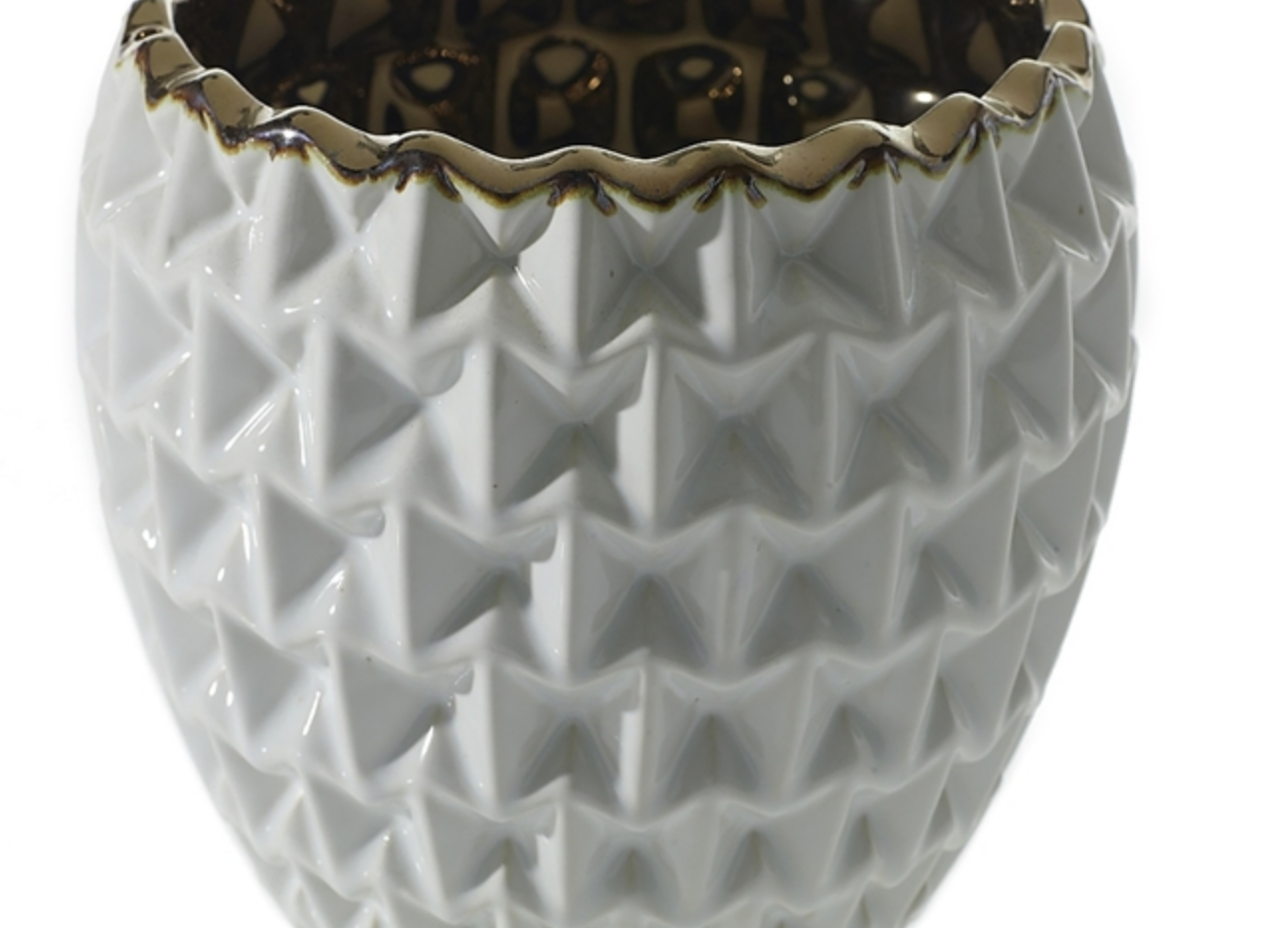 "Melrose Floral Pot - 5.5""x5.75"""