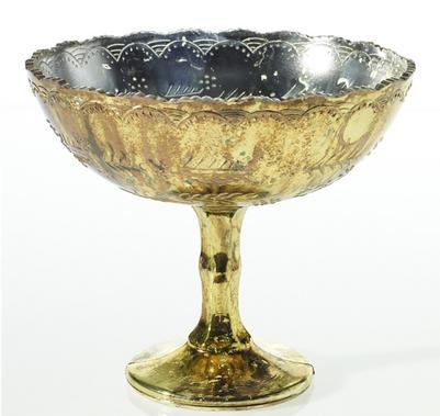 """Desiray Compote Vase - 8""""x7"""""""