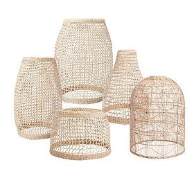 Seagrass Rye Lanterns