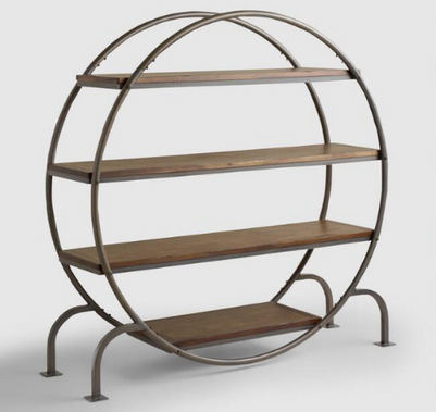 Rustic Round Shelf