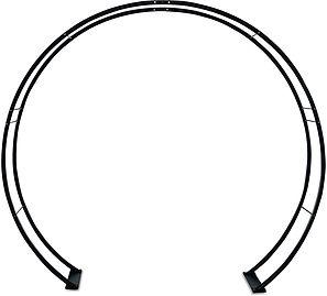 Black Moongate Arch
