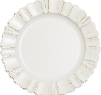 Wavy Scallop Charger