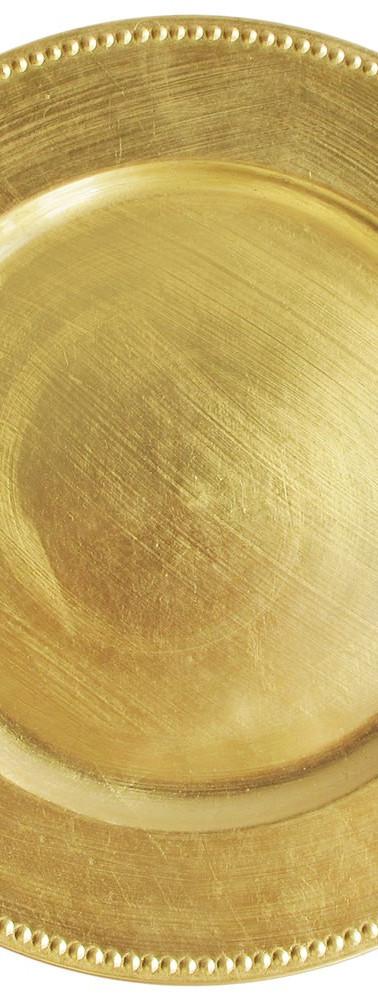 Melamine Gold Beaded Charger.jpg