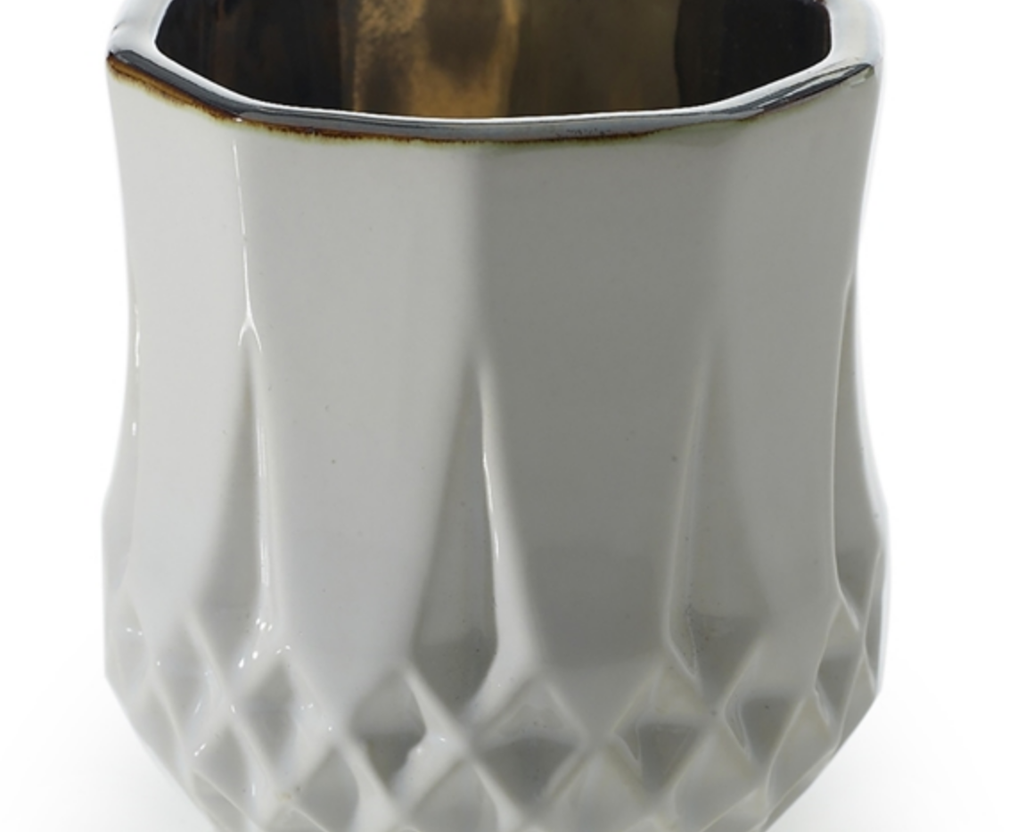 """Melrose Floral Vase - 3""""x3.25"""""""