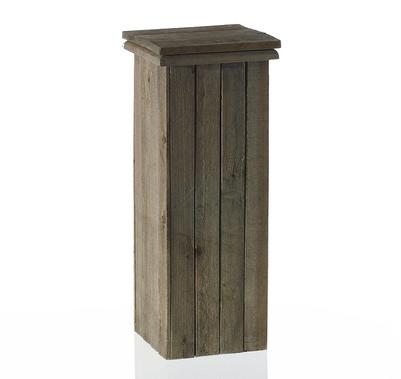Wood Pedestal Column