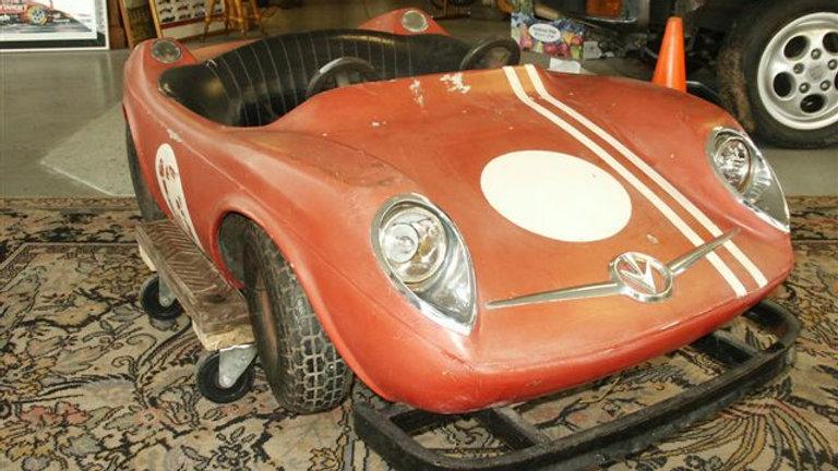Red Roadster Carnival Ride Car
