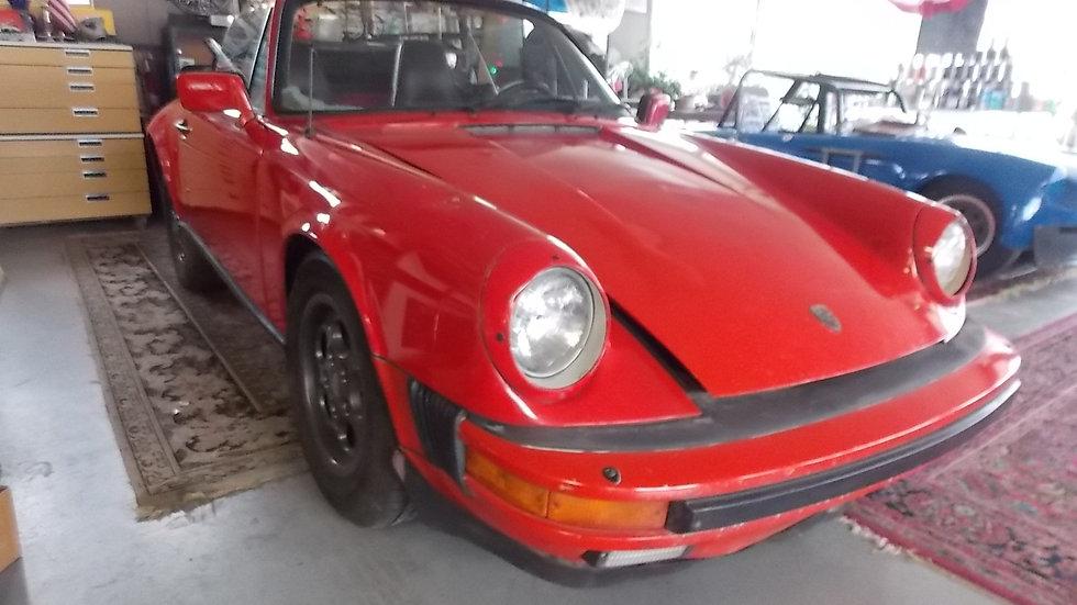 1984 Porsche 911 Convertible