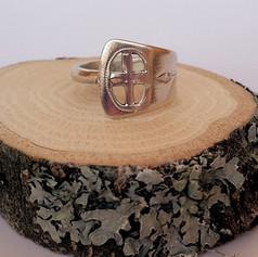 silver teaspoon ring