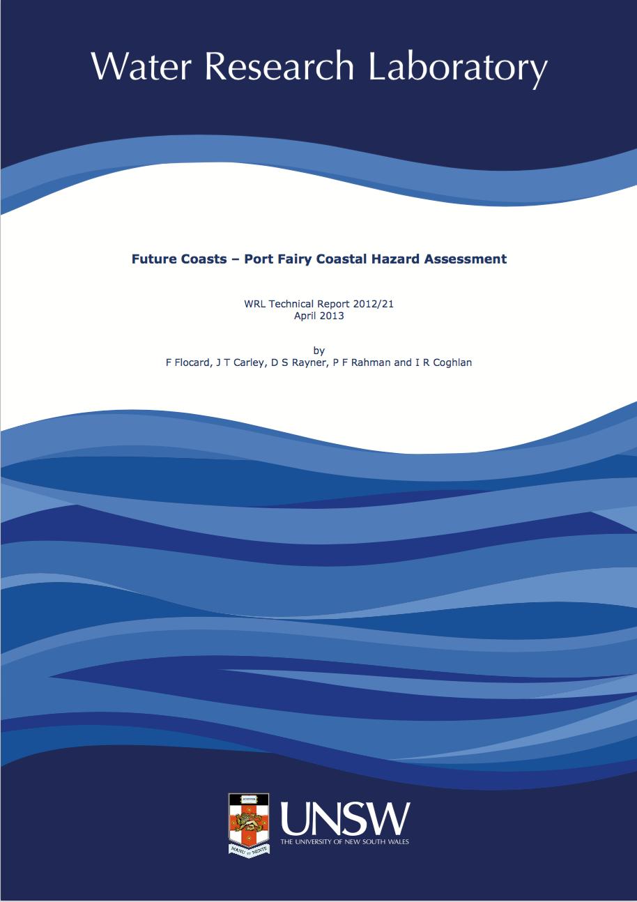 Port Fairy Coastal Hazard Assessment Report cover