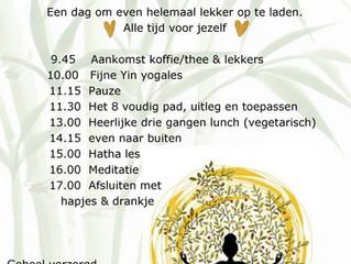 Yogadag 21 augustus