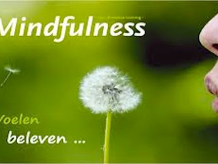 Mindfulness training start zaterdag 4 maart 10.30