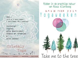 Yogaweekend Nieuw Allardsoog 8, 9 en 10 februari 2019