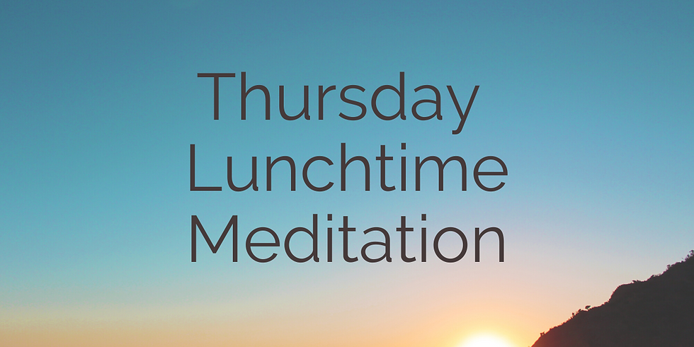 Lunchtime Meditation 30 Minutes