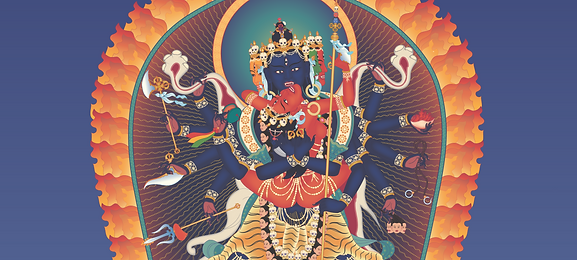 Heruka-12-armed-3-with-offerings-and-bac