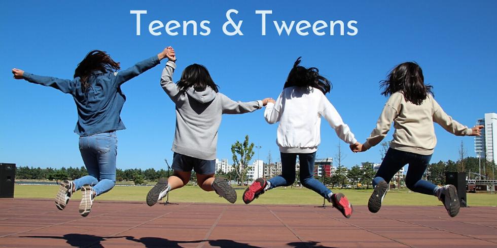 Teens & Tweens class