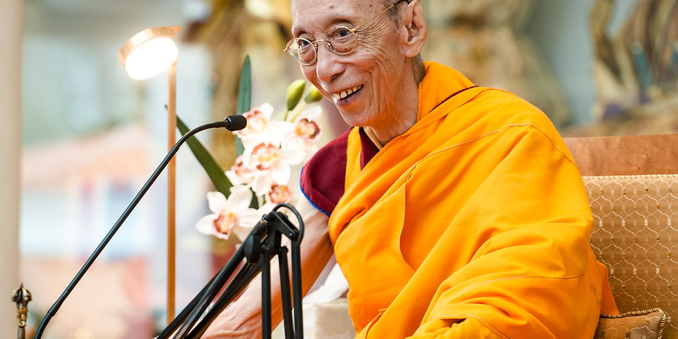 Special Retreat with Gen-la Dekyong - IN PERSON WATCHING at KMC BLOOMINGTON