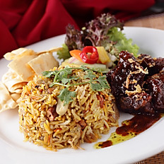 Lamb/ Chicken Briyani