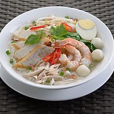 Old Malaya Kopitiam Hor Fun (Clear Noodles Soup)