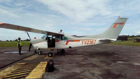 Cessna C-210 con matrícula YV2367 y ruta El Vigía-Maracaibo, fue declarado en detresfa
