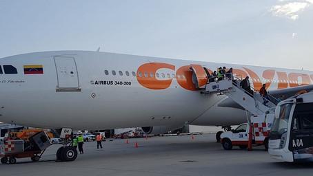 Conviasa reactivó dos vuelos Caracas-Panamá