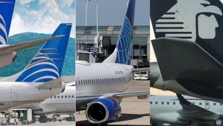 United Airlines, Copa Airlines y Aeroméxico retoman vuelos a Nicaragua