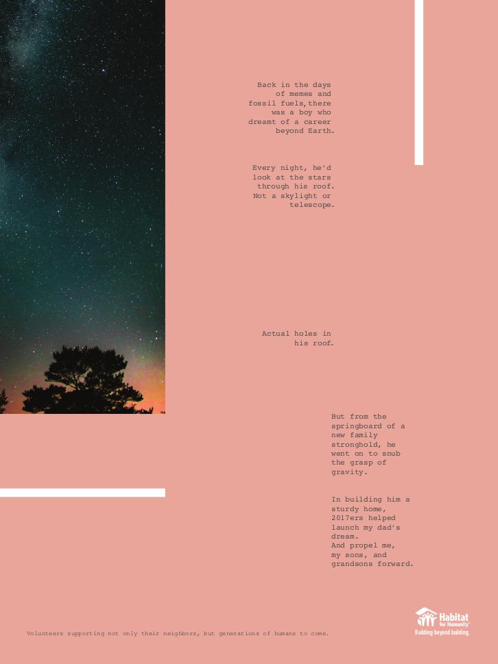 Habitat for Humanity - Print 1