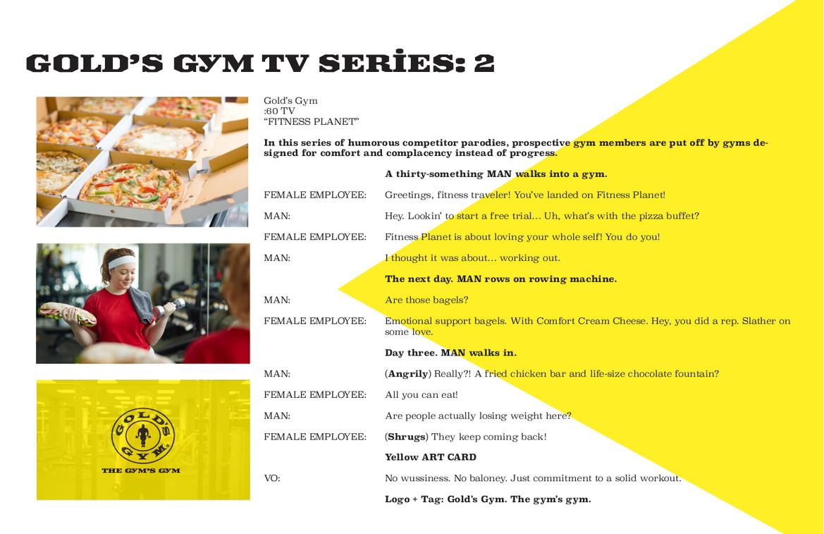 Gold's Gym - TV 2