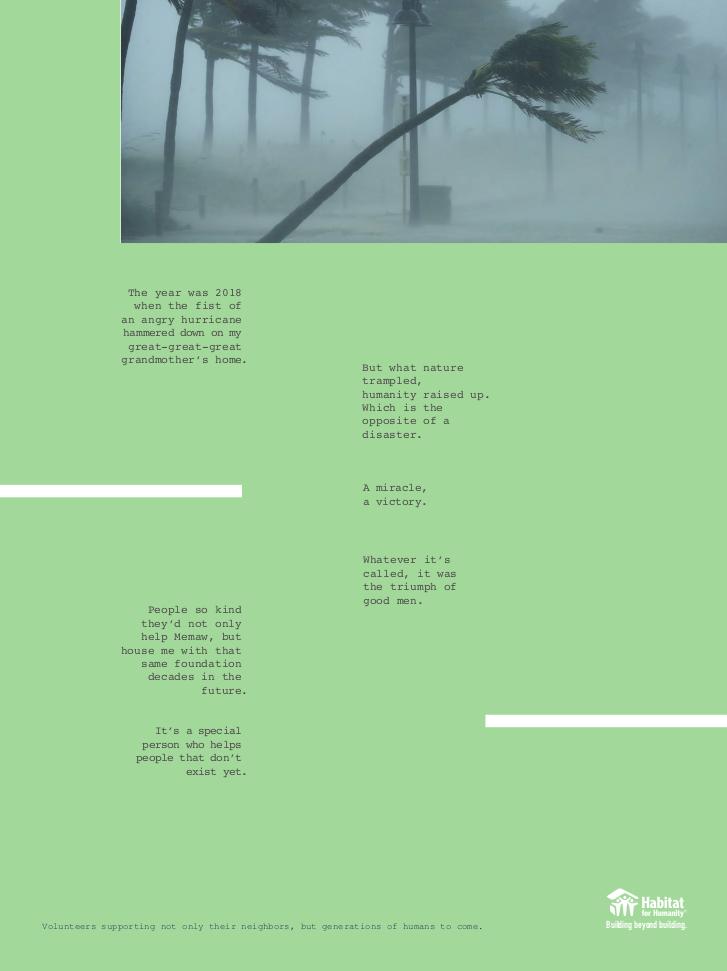 Habitat for Humanity - Print 2