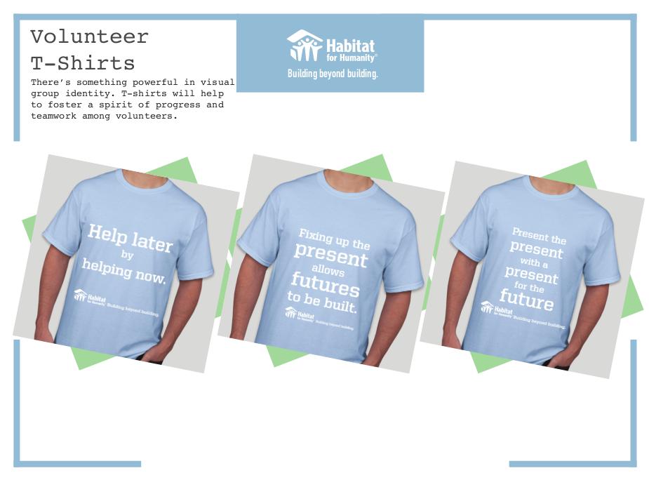 Habitat for Humanity - Volunteer T-Shirts