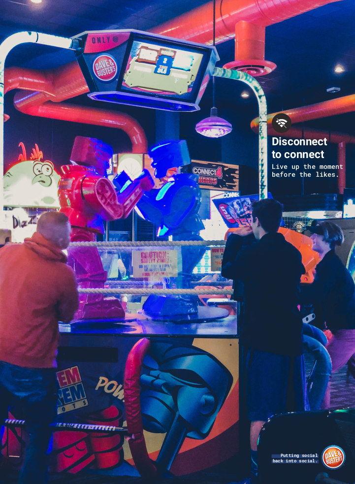 Dave & Buster's - Print 2