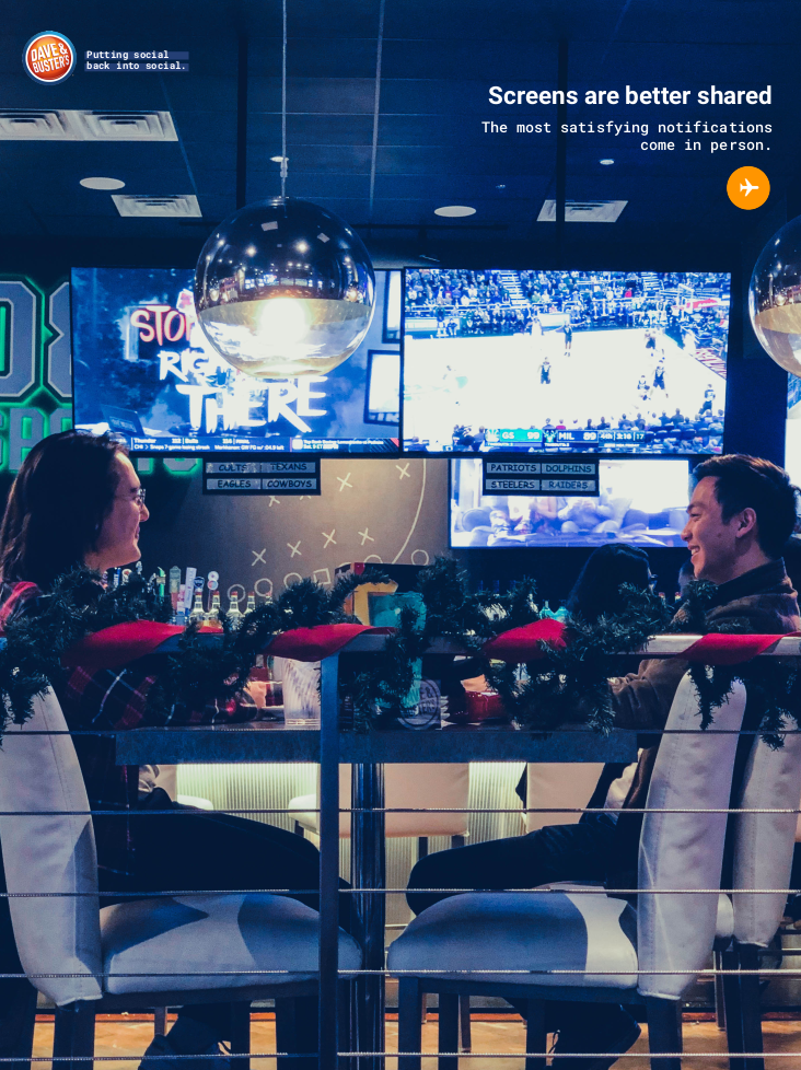 Dave & Buster's - Print 3
