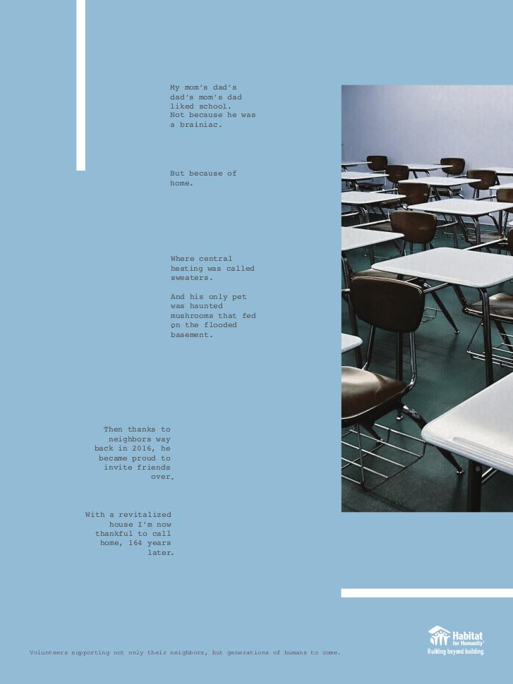 Habitat for Humanity - Print 3