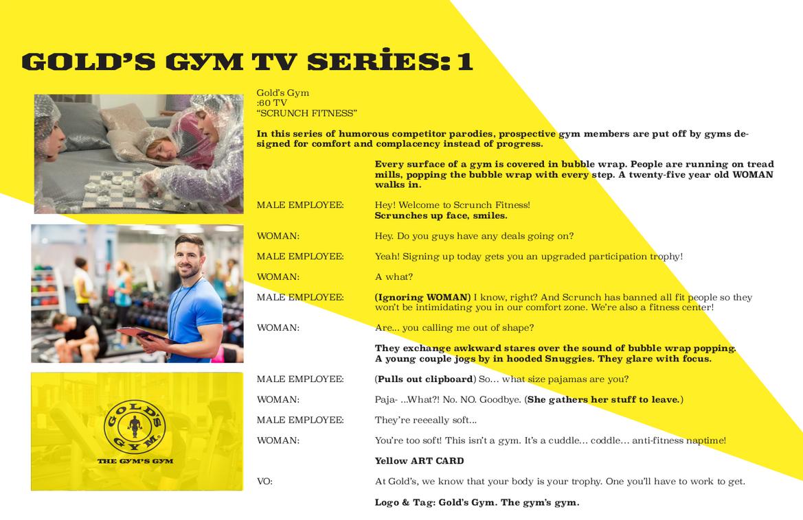Gold's Gym - TV 1