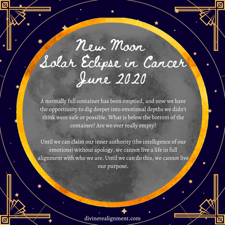 New Moon Solar Eclipse in Cancer