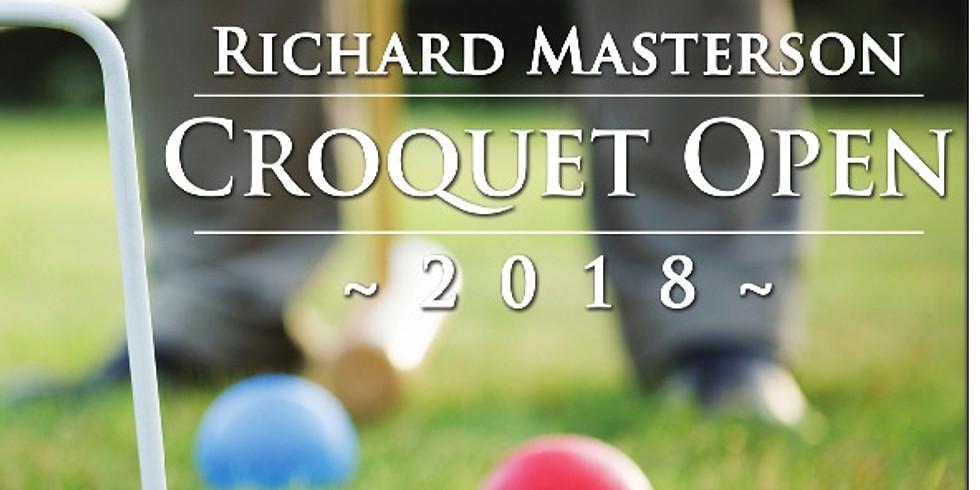 Richard Masterson Croquet Open 2019